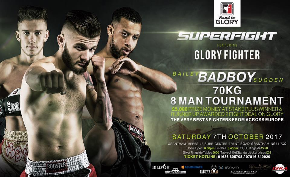 Road to Glory UK 3 announces Giannis Skordilis in 8-man tournament